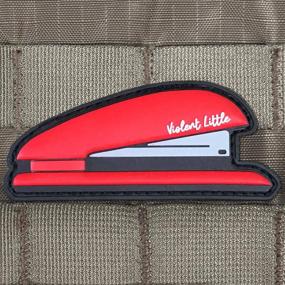 Violent Little Machine Shop Violent Little Machine Shop Milton's Red Stapler Morale Patch