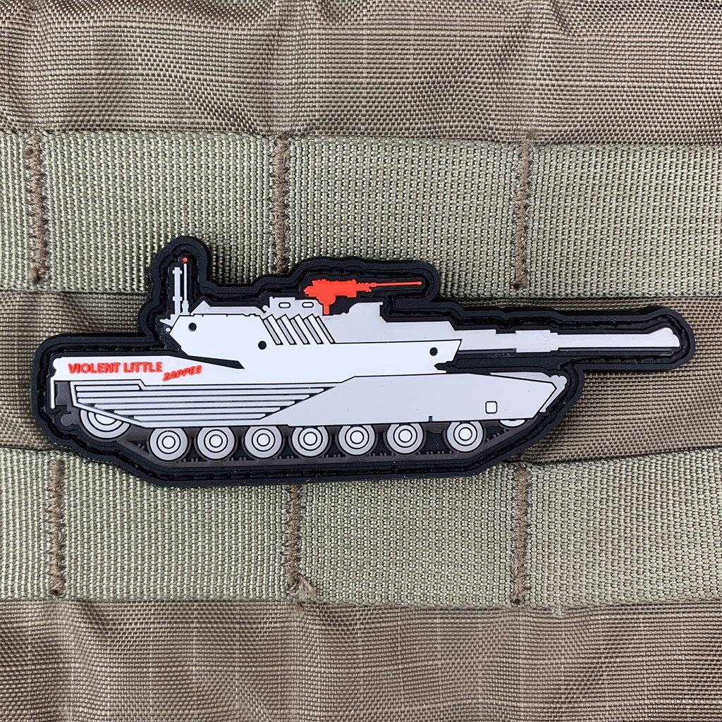 Violent Little Machine Shop Violent Little Machine Shop Violent Little Zapper M1 Abrams Tank Morale Patch