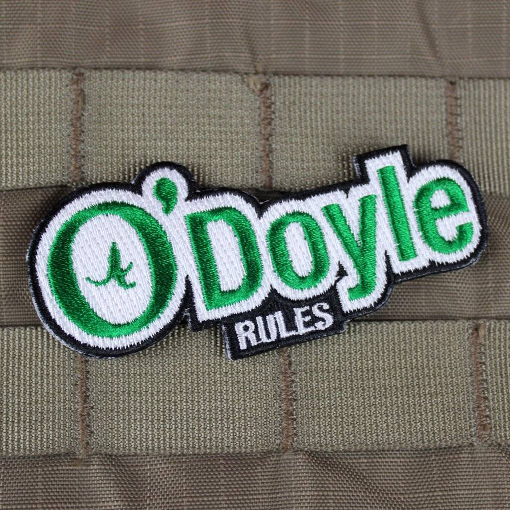 Violent Little Machine Shop Violent Little Machine Shop O'Doyle Rules Morale Patch