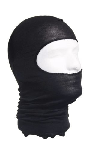 HWI Tactical Duty And Designs HWI Lightweight Nomex Hood, Black, One Size