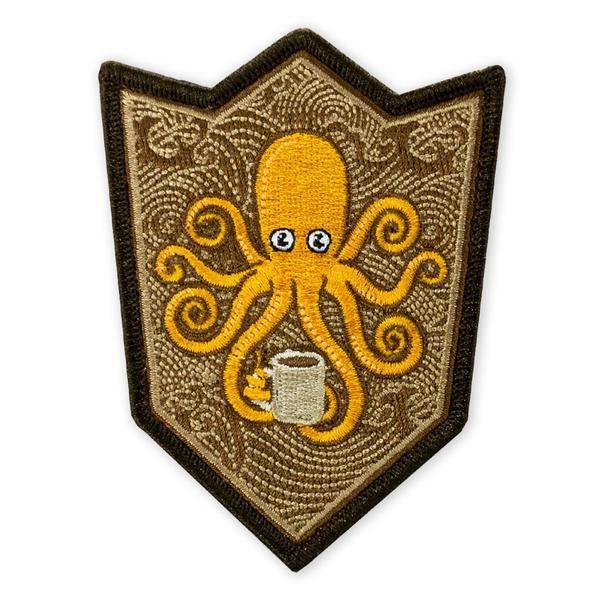 Prometheus Design Werx Prometheus Design Werx SPD Kraken Coffee Crest Morale Patch