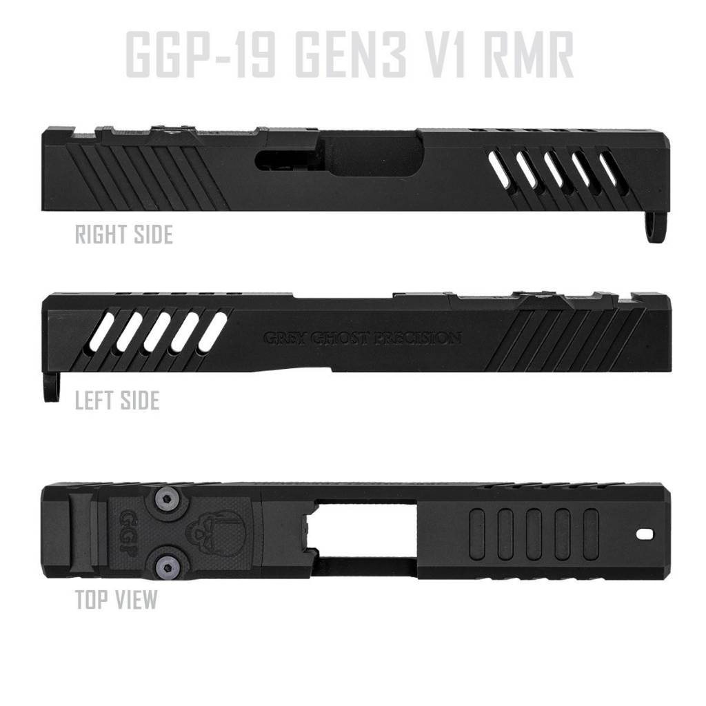 Grey Ghost Precision GGP Glock 19 Gen 3 Slide with RMR Cut