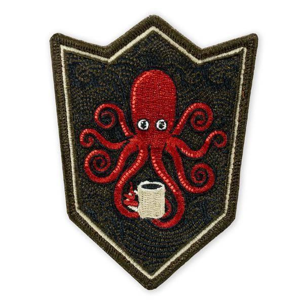 Prometheus Design Werx SPD Kraken Black Coffee Crest LTD ED Morale Patch