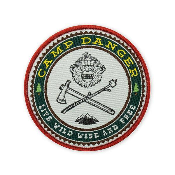 Prometheus Design Werx DRB Camp Danger v7 LTD ED Morale Patch