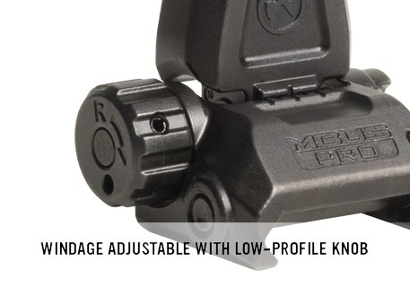Magpul Magpul MBUS Pro Sight - Rear - Black