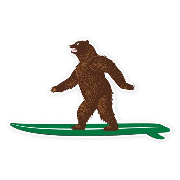 Prometheus Design Werx Prometheus Design Werx PDW CA Bear Sticker