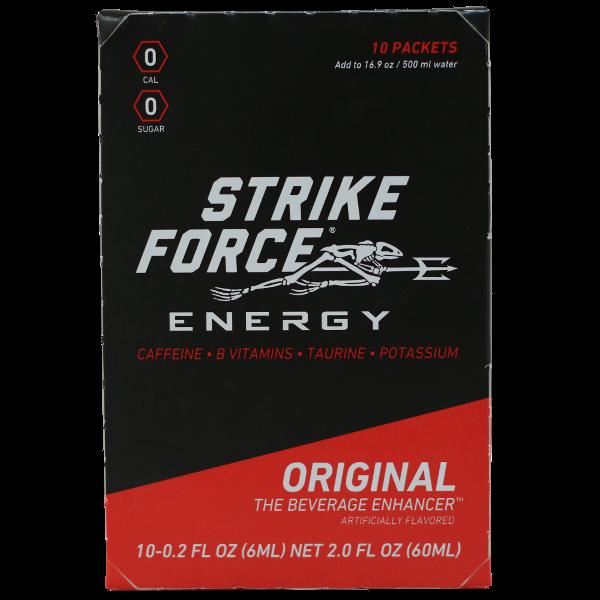 Strike Force Energy Strike Force Energy, Strike Force, 10 Count Box