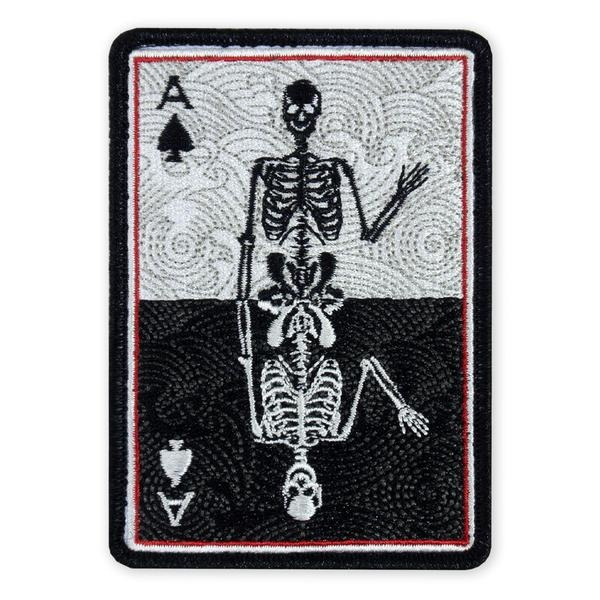 Prometheus Design Werx Prometheus Design Werx PDW Death Card Mirror LTD Morale Patch