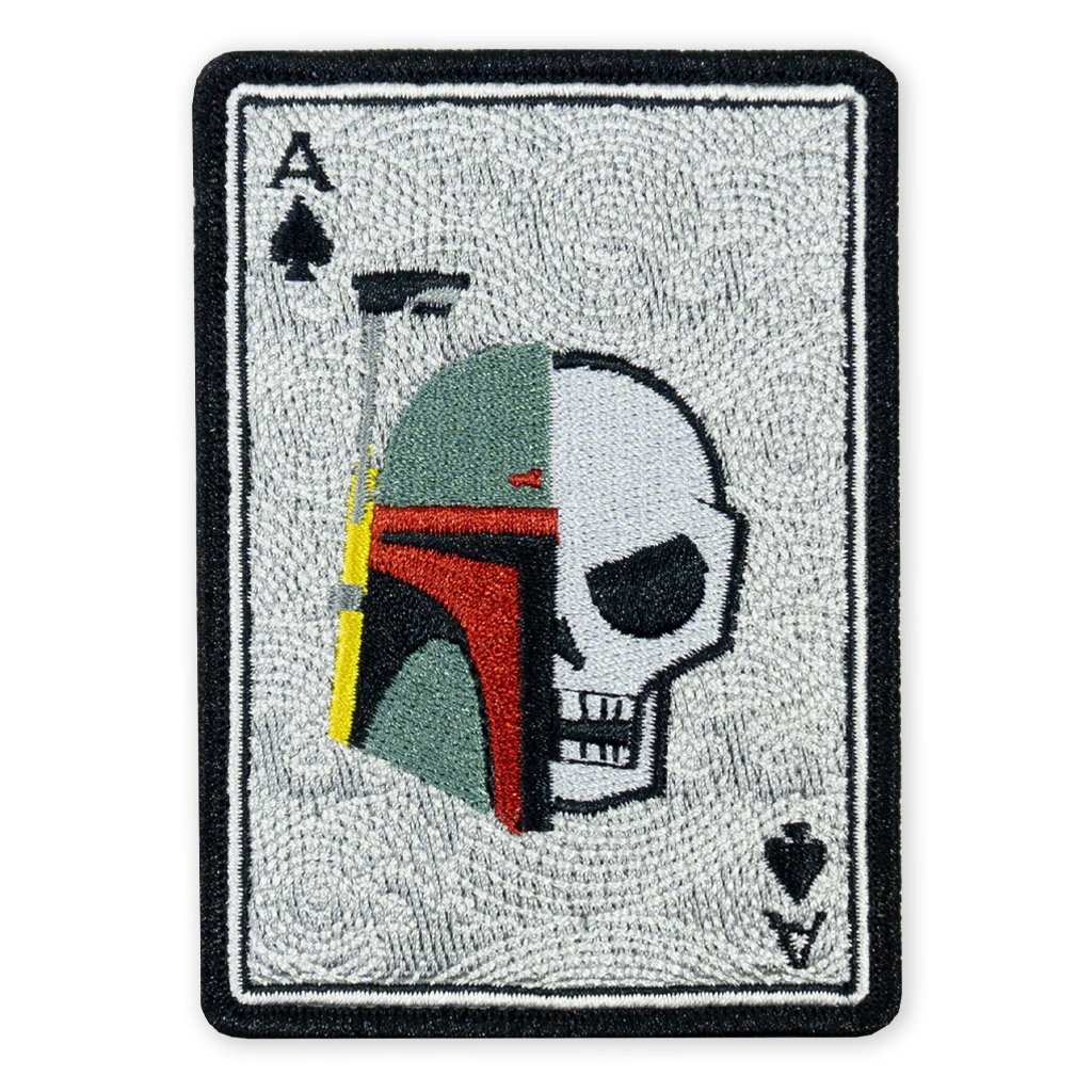 Prometheus Design Werx Prometheus Design Werx PDW May 4th 2019 Boba Fett with Skull Death Card