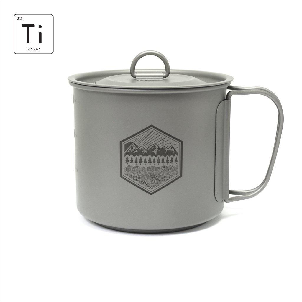 Prometheus Design Werx Prometheus Design Werx PDW Ti-Line 600ML Mini Pot-Mug with Lid