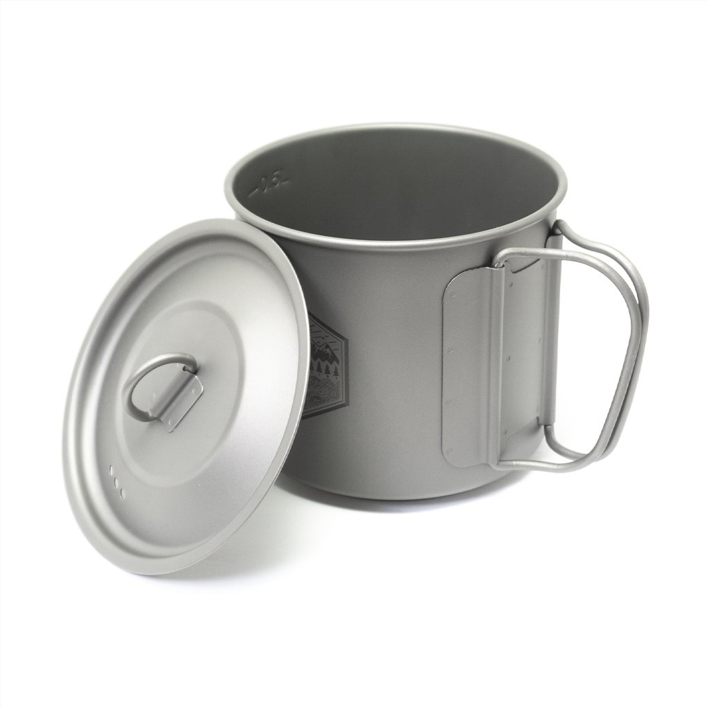 Prometheus Design Werx Prometheus Design Werx PDW Ti-Line 600ML Mini Pot-Mug with Lid