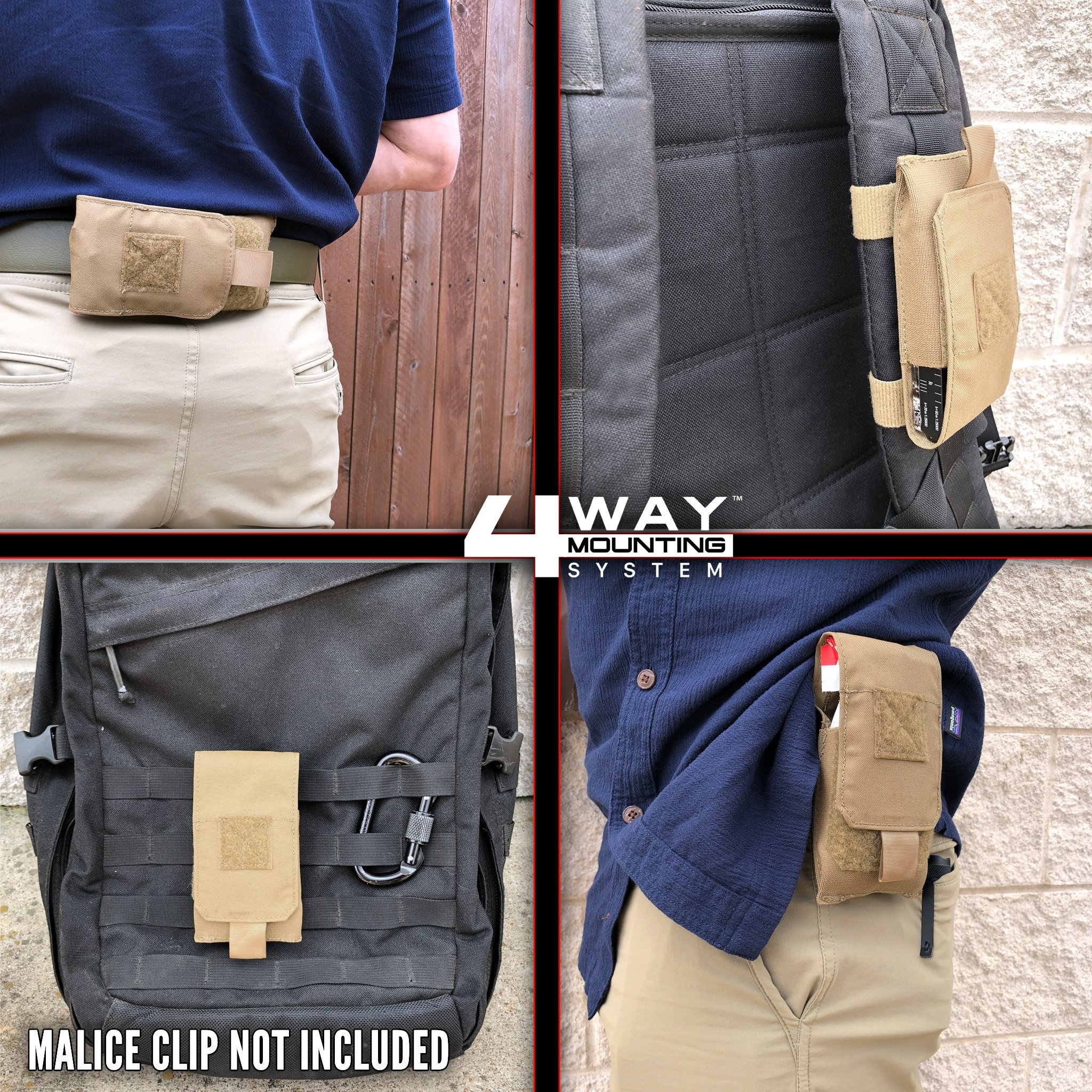 ITS Tactical ITS Tactical Slimline Pouch - Black