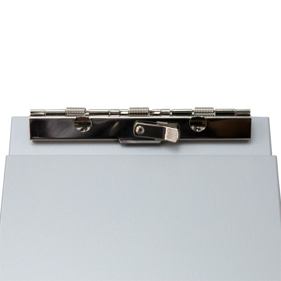 Saunders Saunders A-Holder, Memo Size, Silver