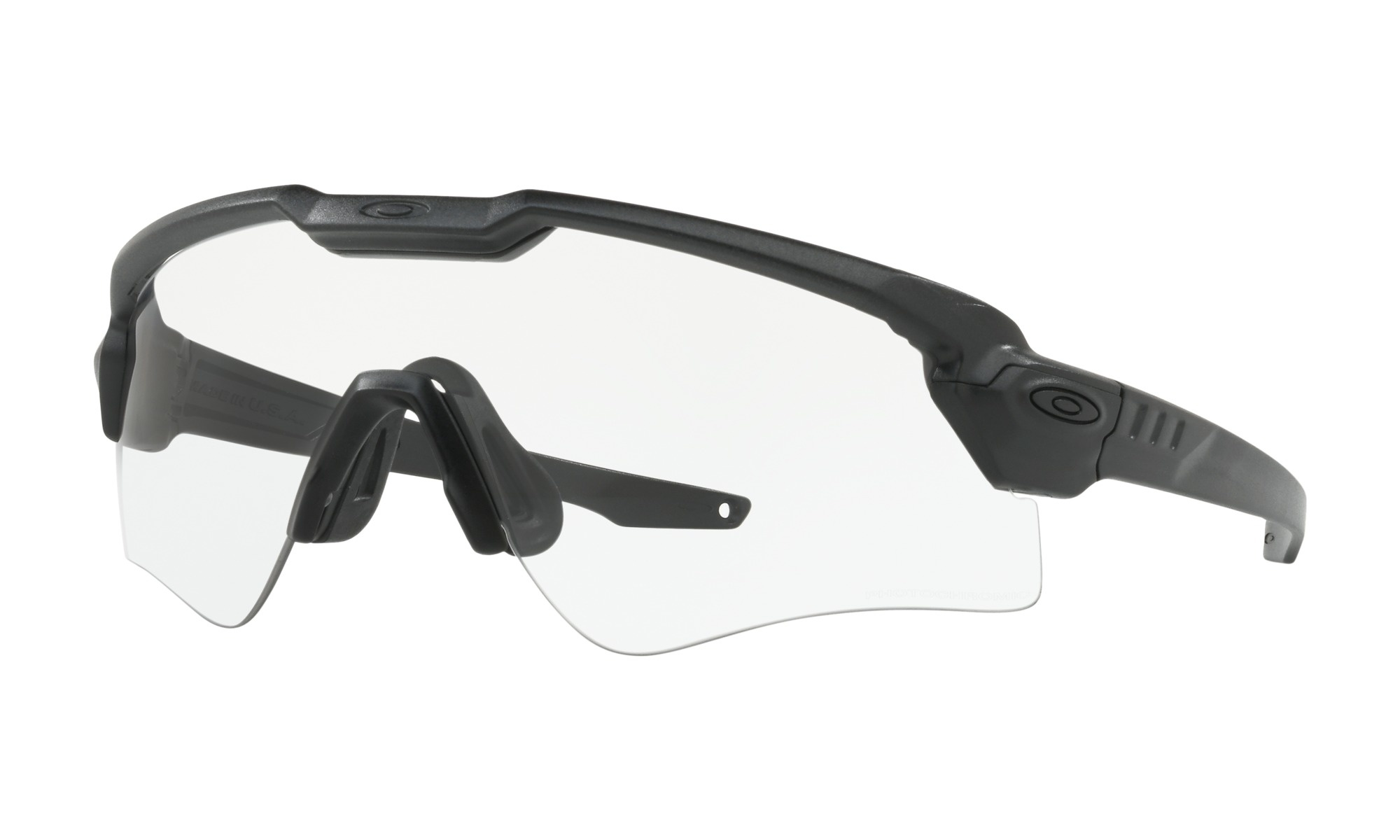 Oakley Oakley SI Ballistic M frame Alpha Black/ Clear/Grey Photochromic