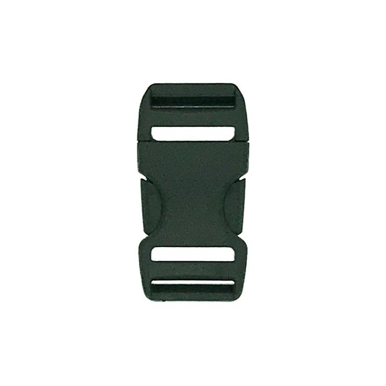 "Duraflex Duraflex 1"" Side Squeeze Buckle - Dual Adjust Stealth 25mm - Complete Male & Female Set, Tan"