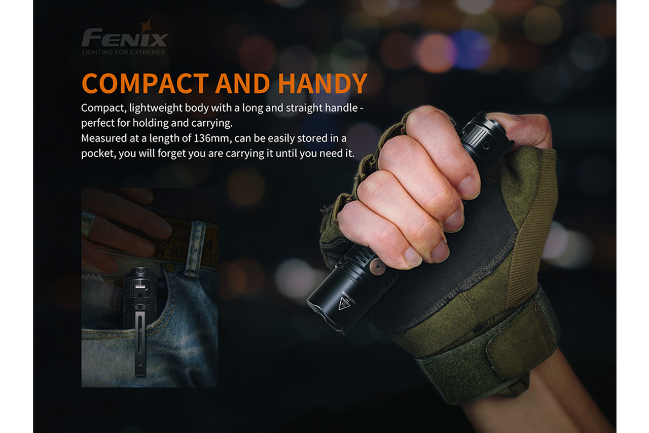 Fenix Fenix PD36R Rechargeable 1600 Lumen Tactical Flashlight
