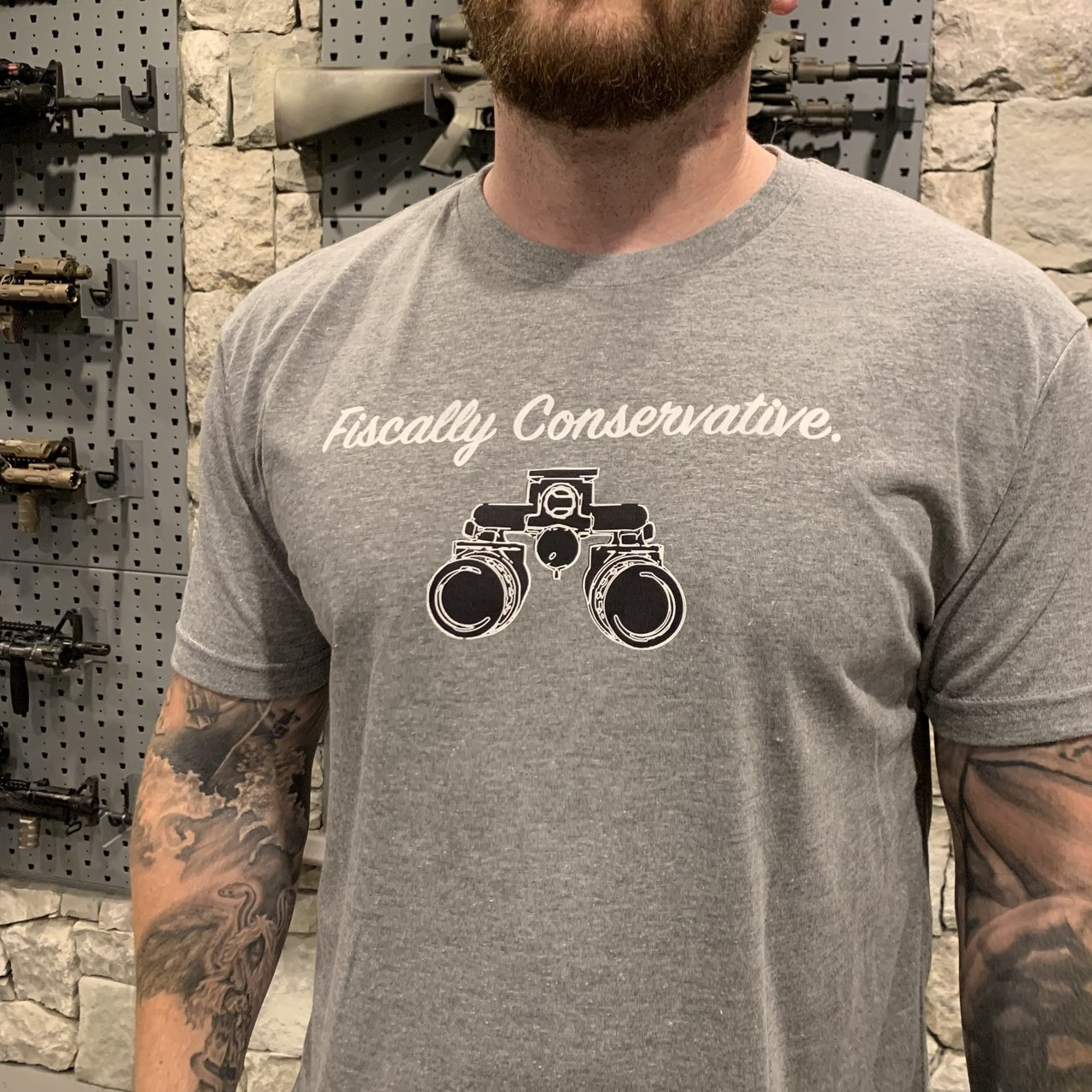 RailScales RailScales Fiscally Conservative Tee