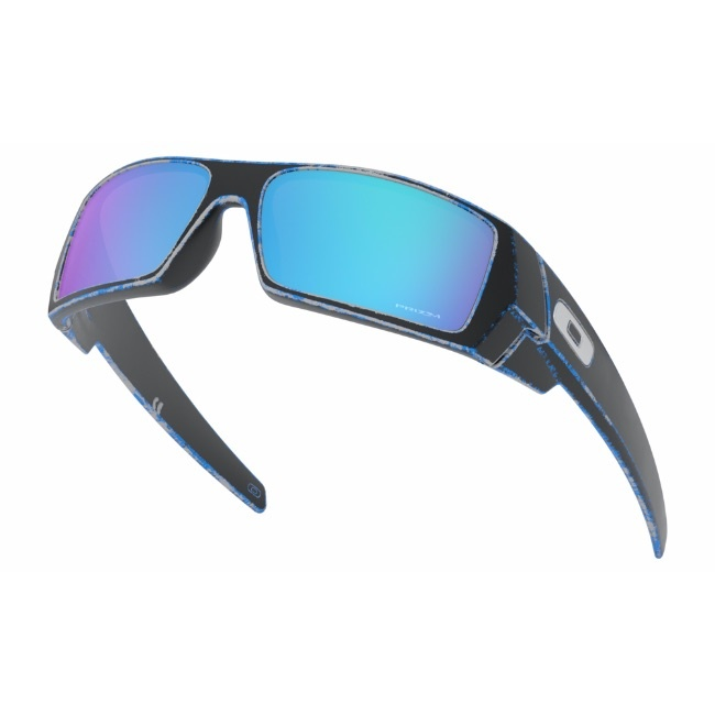 Oakley Oakley GASCAN RACEWORN BLUE W/ PRIZM SAPPHIRE IRIDIUM