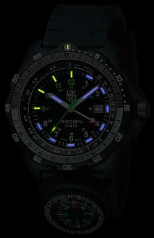 Luminox Luminox RECON NAV SPC GMT 8831.KM BLACK/WHITE