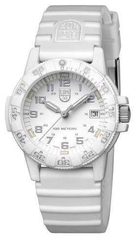 Luminox Luminox  LEATHERBACK SEA TURTLE - 39MM 0300 SERIES WHITE/SILVER