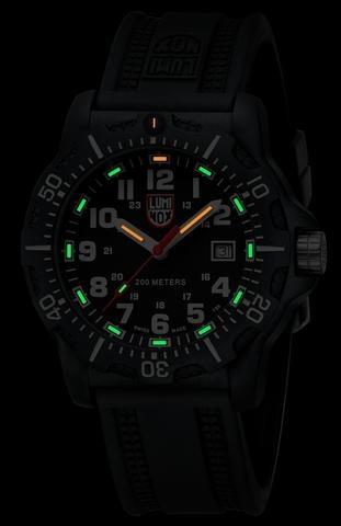 Luminox BLACK OPS CARBON 8880 SERIES BLACK/WHITE