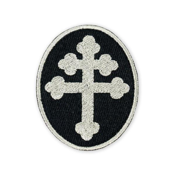 Prometheus Design Werx Prometheus Design Werx Cross Of Lorraine Silver Morale Patch