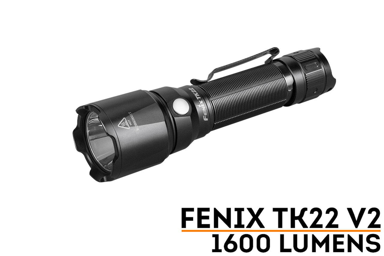 Fenix Fenix TK22 V2.0 Tactical Flashlight - 1600 Lumens