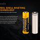 Fenix Fenix Rechargeable 21700 Li-ion Battery - 5000 mAh