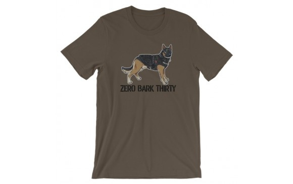 Weapon Outfitters Weapons Outfitters Paigeosity Art Zero Bark Thirty Unisex Crew Neck T-Shirts