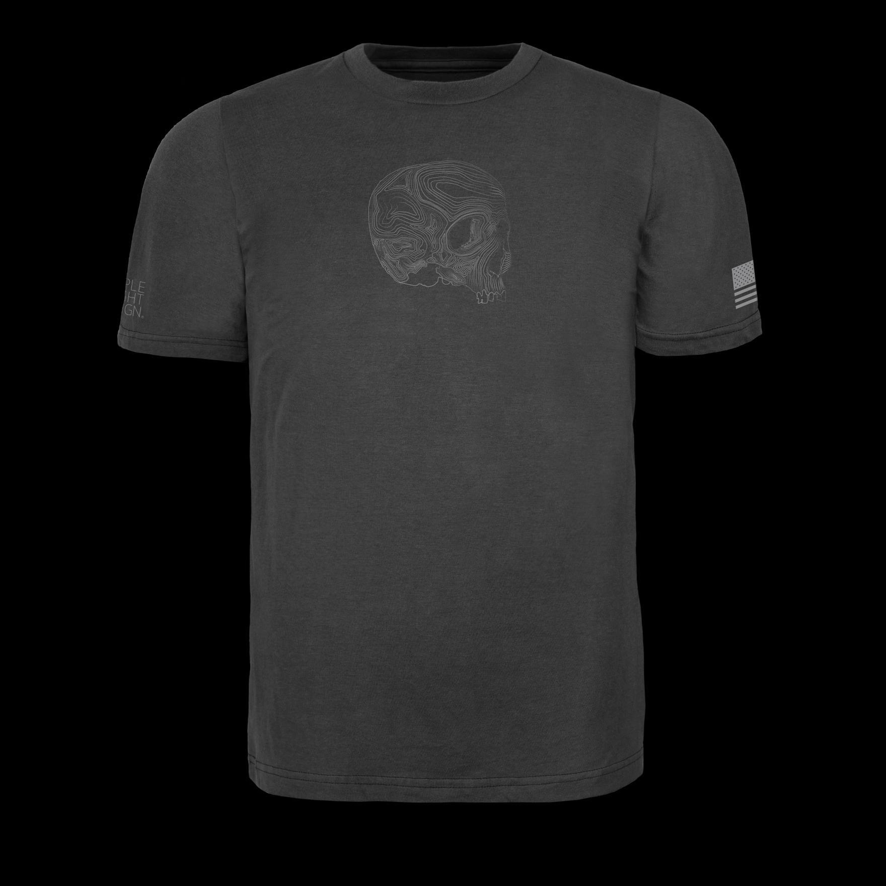Triple Aught Design Triple Aught Design Topo Skull T-Shirt