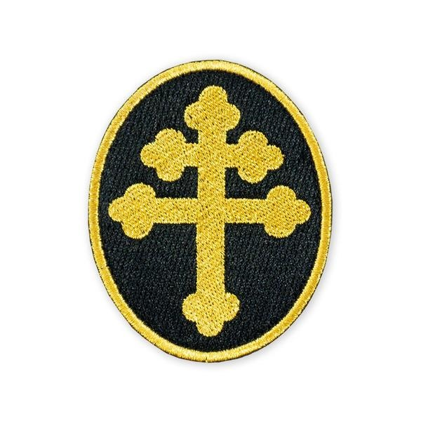 Prometheus Design Werx Prometheus Design Werx PDW Cross of Lorraine Gold Morale Patch