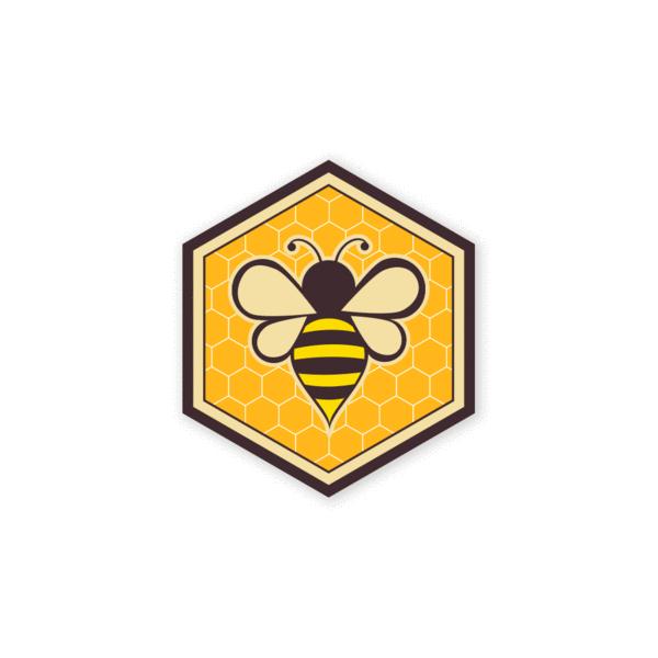 Prometheus Design Werx Prometheus Design Werx PDW Honey Bee Mini-Sticker
