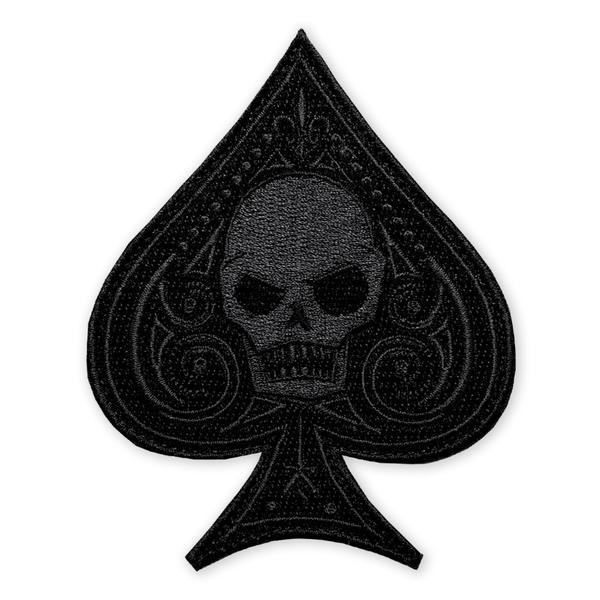 Prometheus Design Werx Prometheus Design Werx PDW Ace Memento Mori Black Out Morale Patch