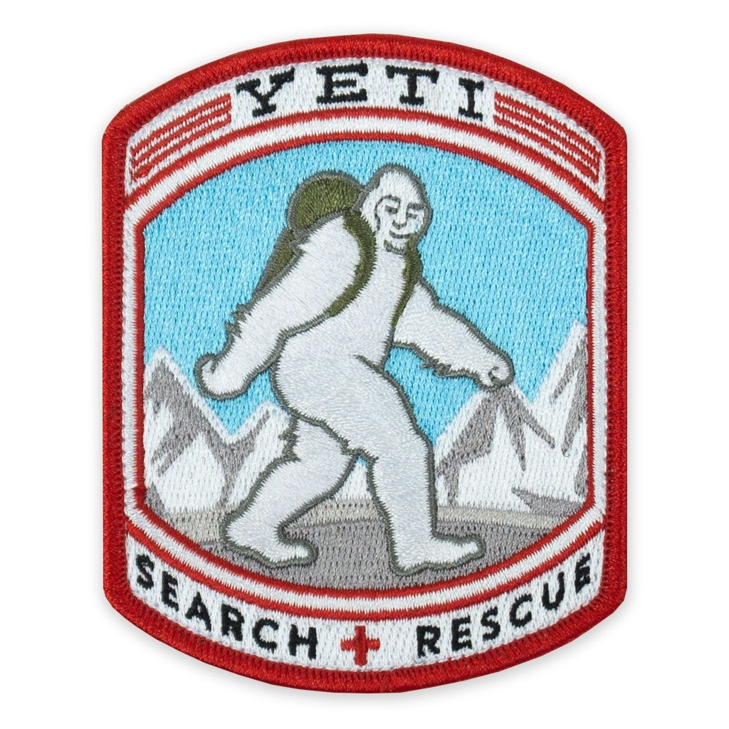 Prometheus Design Werx PDW Yeti Search + Rescue Morale Patch