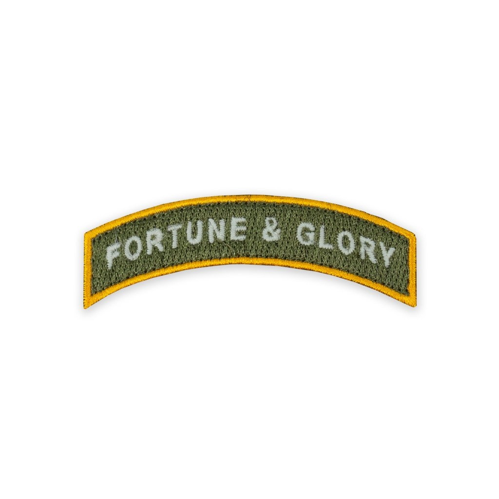 Prometheus Design Werx PDW Fortune & Glory Tab Morale Patch