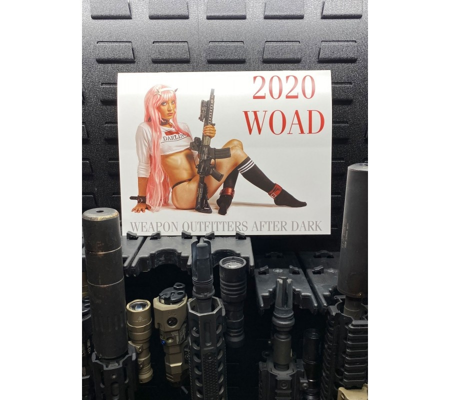 Weapon Outfitters Weapon Outfitters (After Dark) 2020 Calendar - NSFW