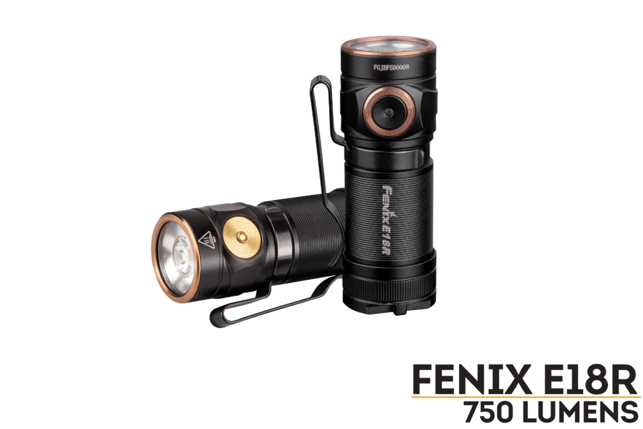 Fenix Fenix E18R Rechargeable LED Flashlight