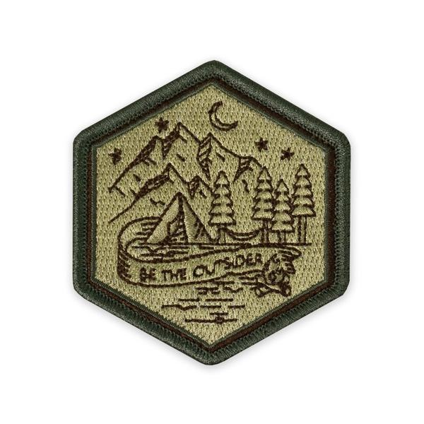 Prometheus Design Werx Prometheus Design Werx PDW Be The Outsider Campsite Morale Patch