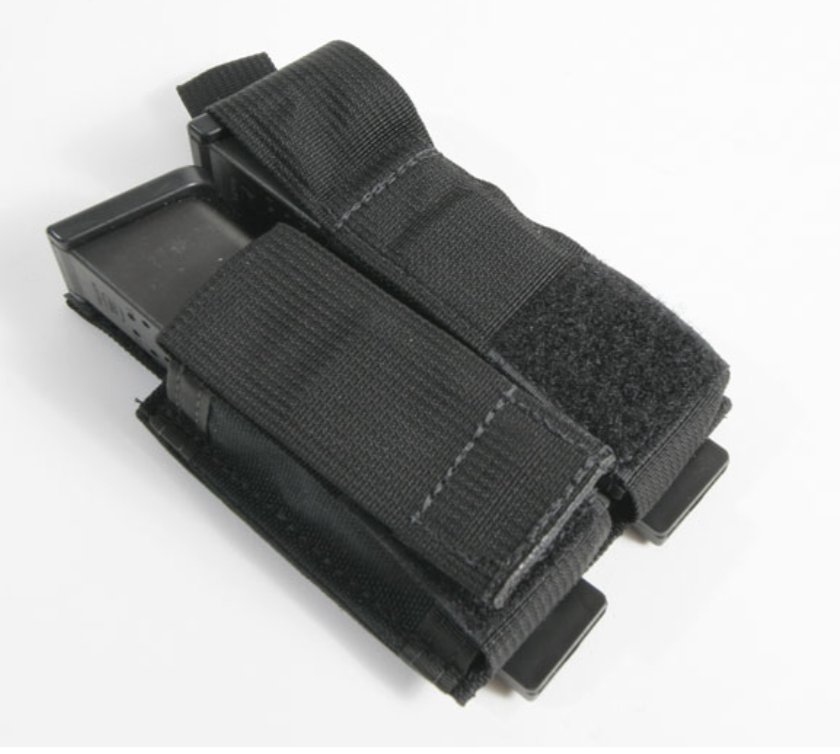 Milburn Mountain Defense Milburn Mountain Defense Loadstone Double Pistol Mag Pouch