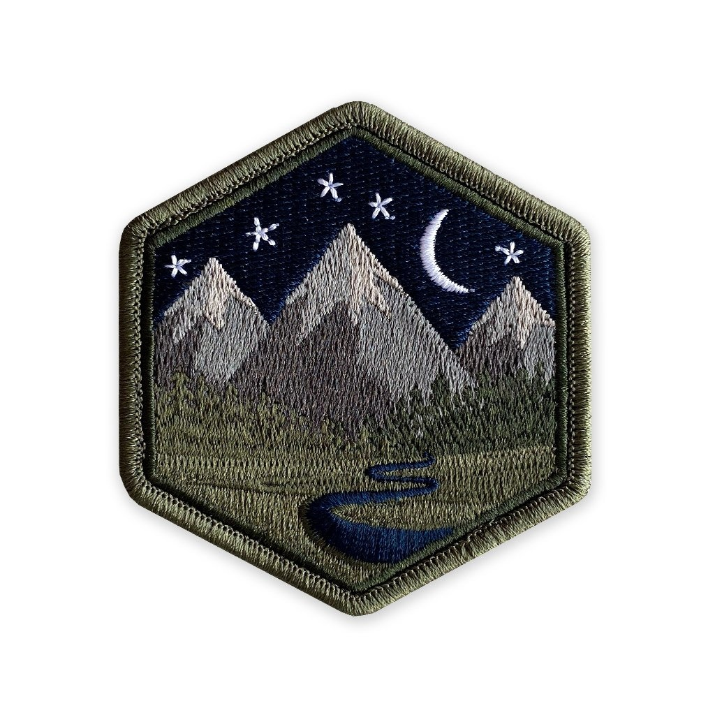 Prometheus Design Werx Prometheus Design Werx PDW Mountain Life Night Sky Morale Patch