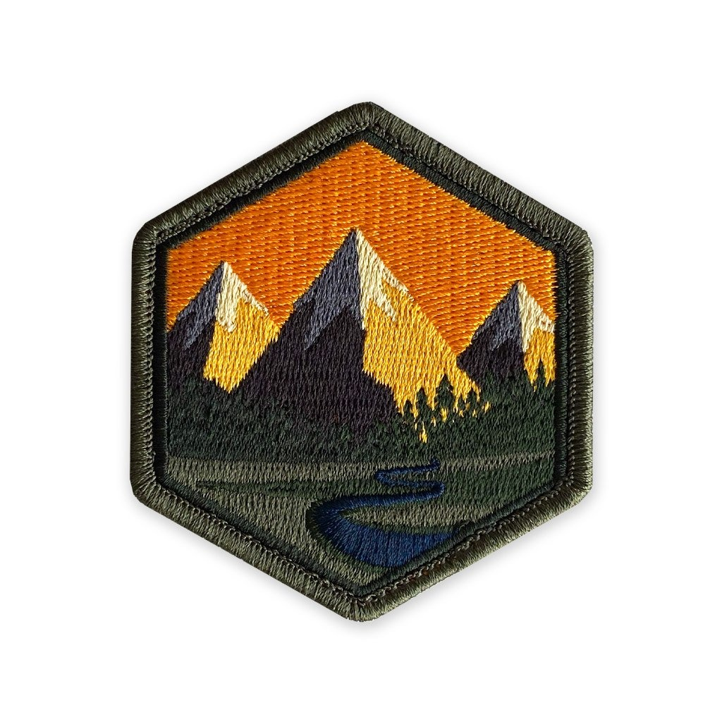 Prometheus Design Werx Prometheus Design Werx PDW Mountain Life Sunset Morale Patch