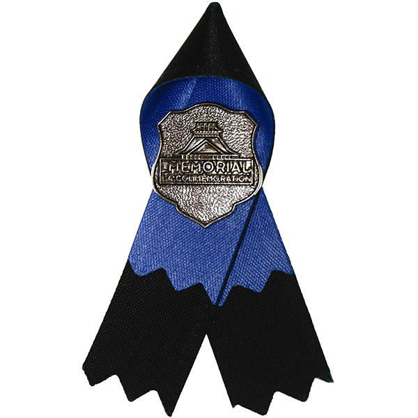 Police & Peace Officers' Memorial Ribbon