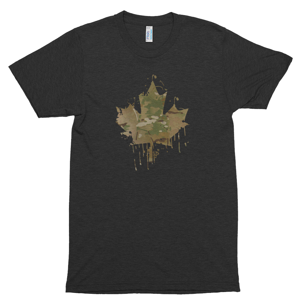 Blackbird Industries Blackbird Industries Splatter Cam Maple Leaf Tee