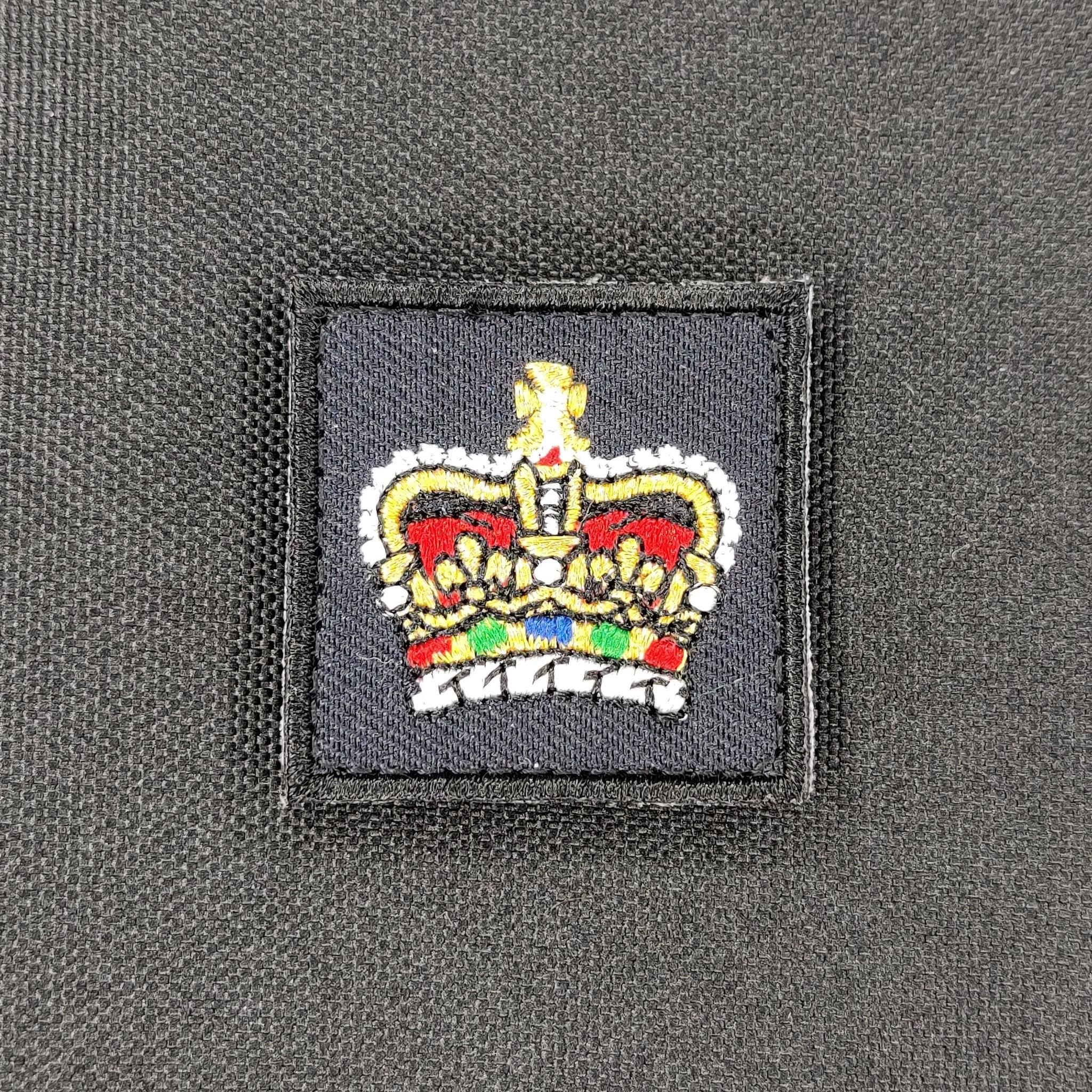 Emblazon Emblazon RCMP Mini Rank Square Patch - Gold Thread/Colour