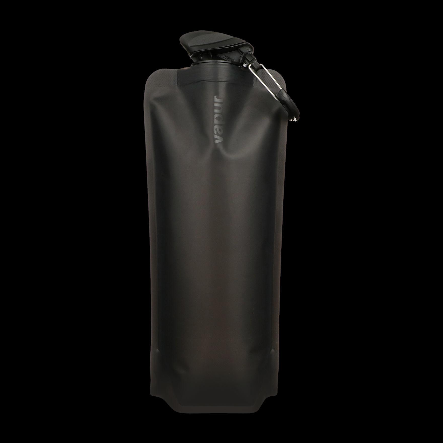 Triple Aught Design Triple Aught Design Vapur Wide Mouth Anti-Bottle - Blackout, Topo Skull