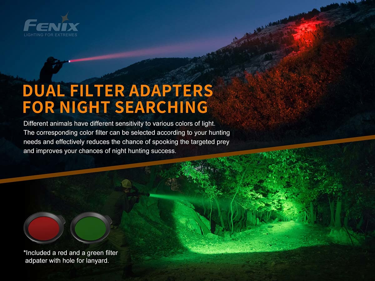 Fenix Fenix HT18 Long Distance Hunting Flashlight - 1500 Lumens