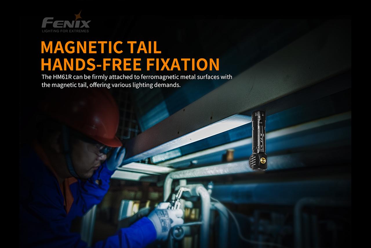 Fenix Fenix HM61R Rechargeable Multi-use Headlamp