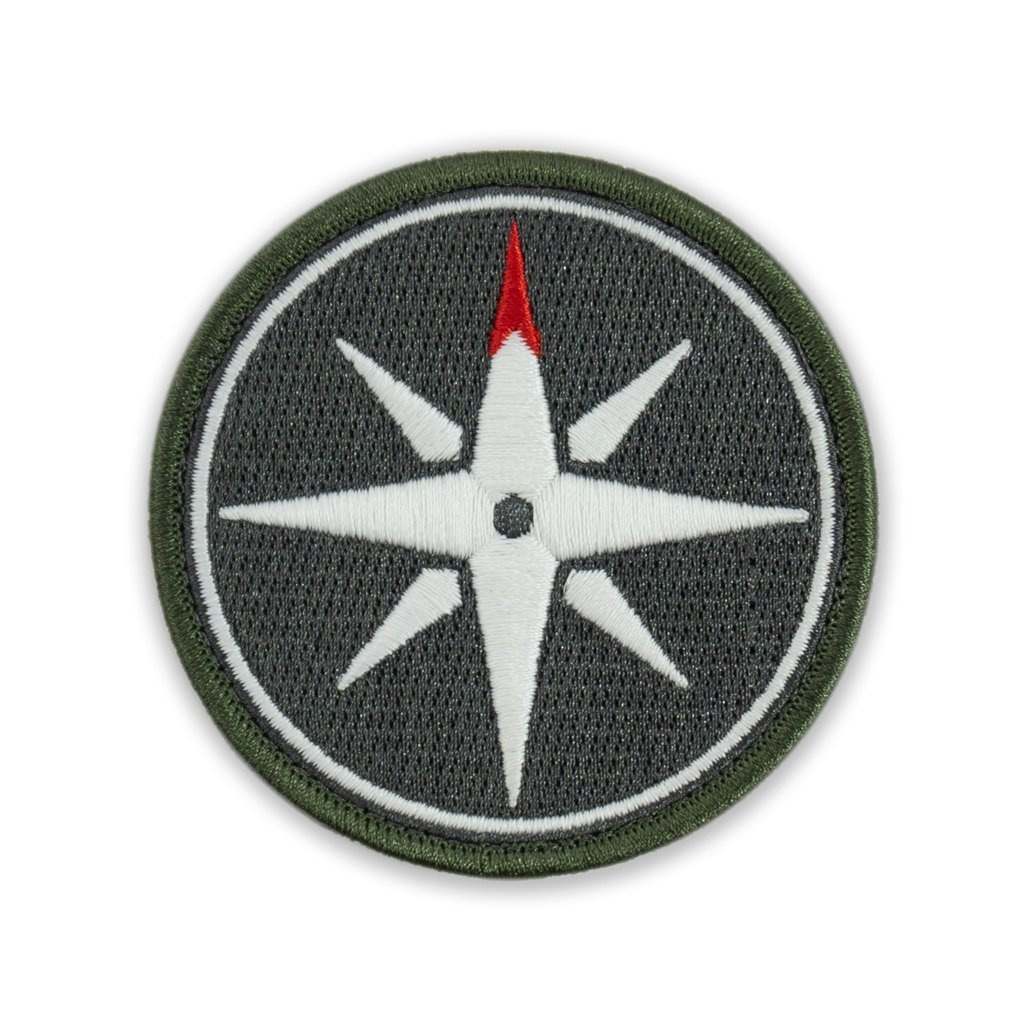 Prometheus Design Werx Prometheus Design Werx PDW Compass Rose GID Morale Patch