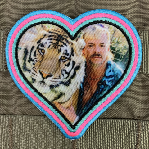 Violent Little Machine Shop Violent Little Machine Shop Heart of the Tiger King Morale Patch