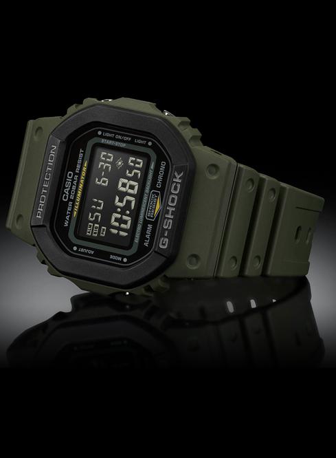 G-Shock G-Shock DW5610SU-3 Street Utility Military Series (Military Green)